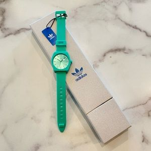 ADIDAS Teal Green Process SP1 Silicone Watch
